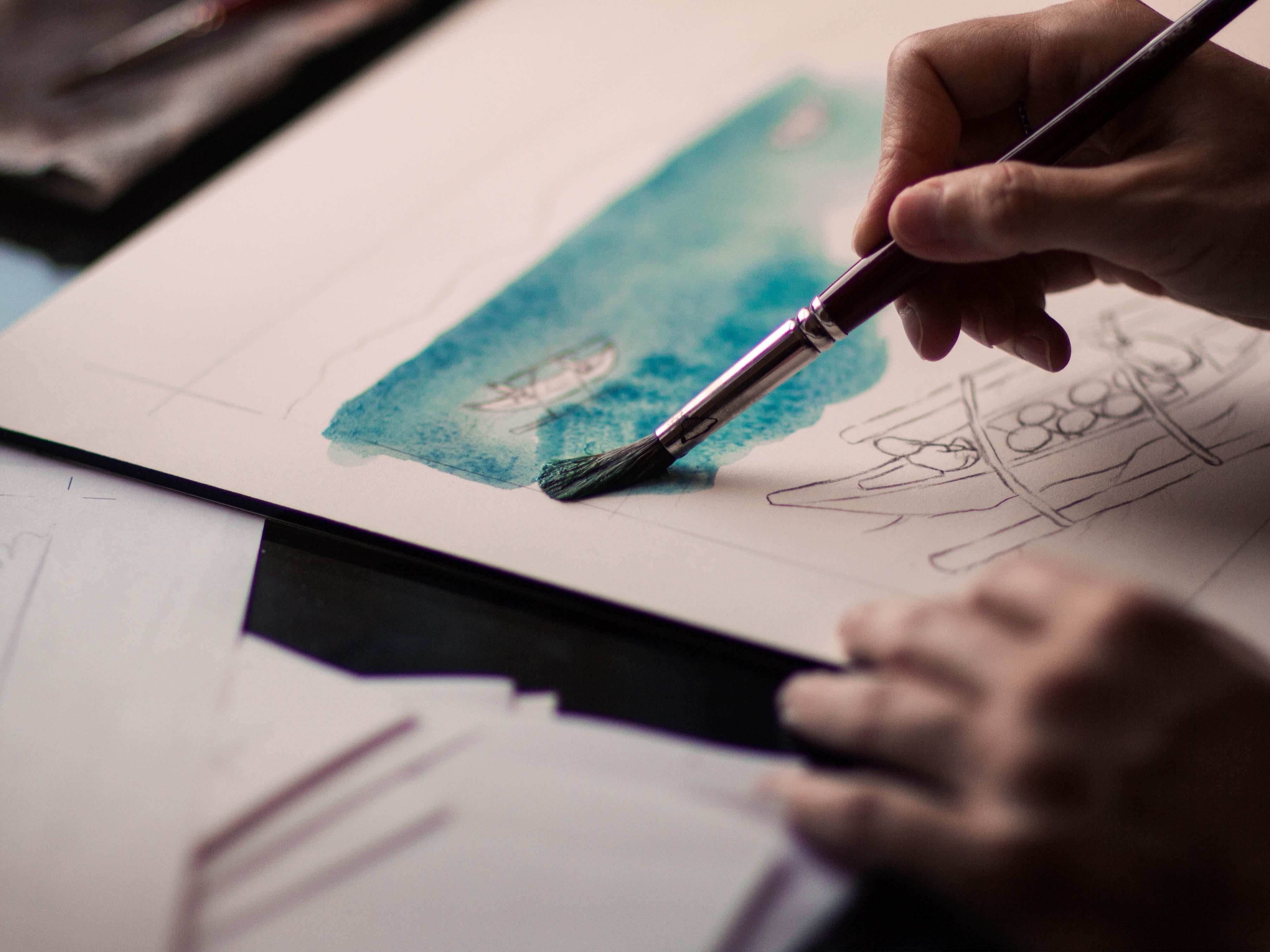 wizualizacja ręczna