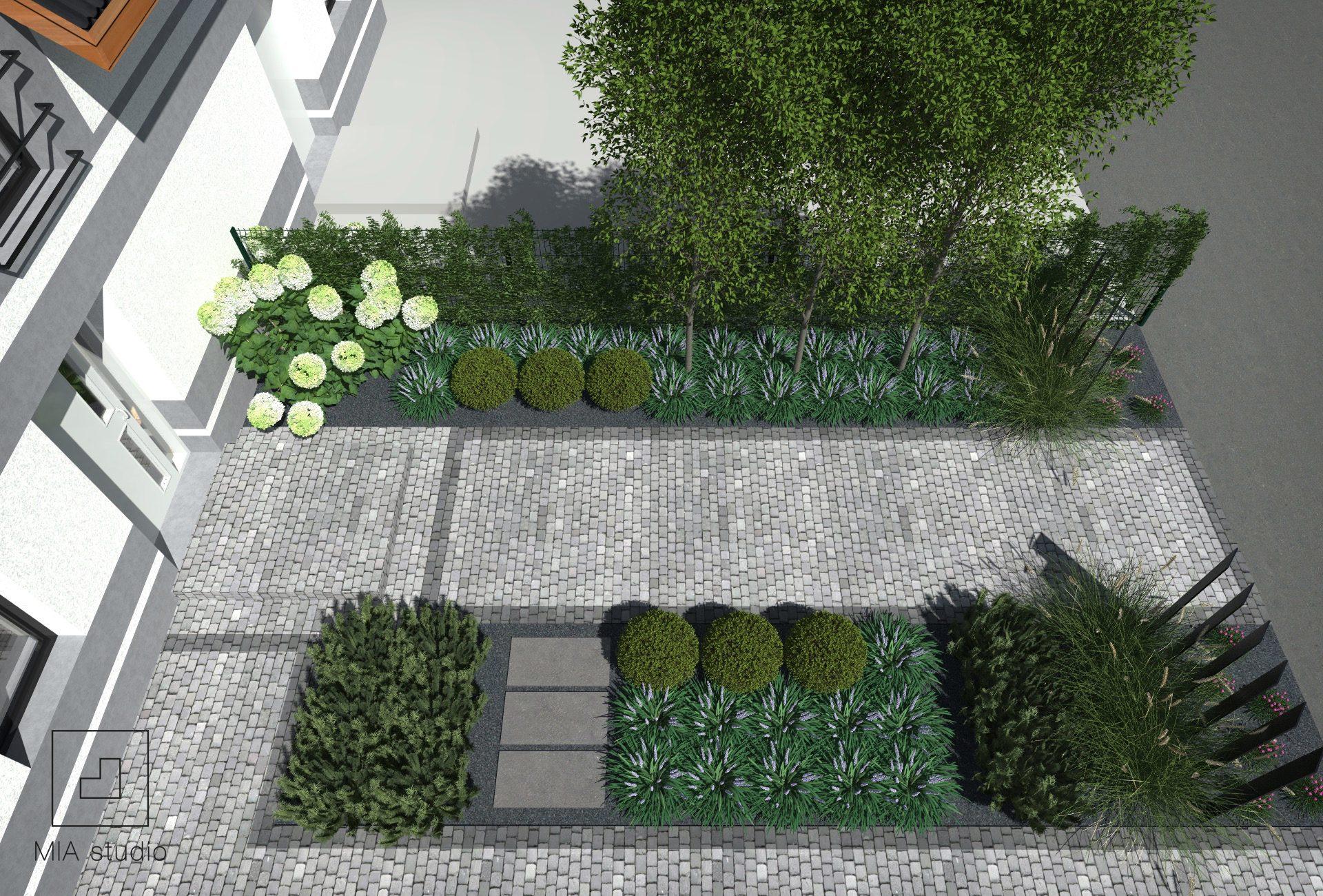 ogród wejściowy