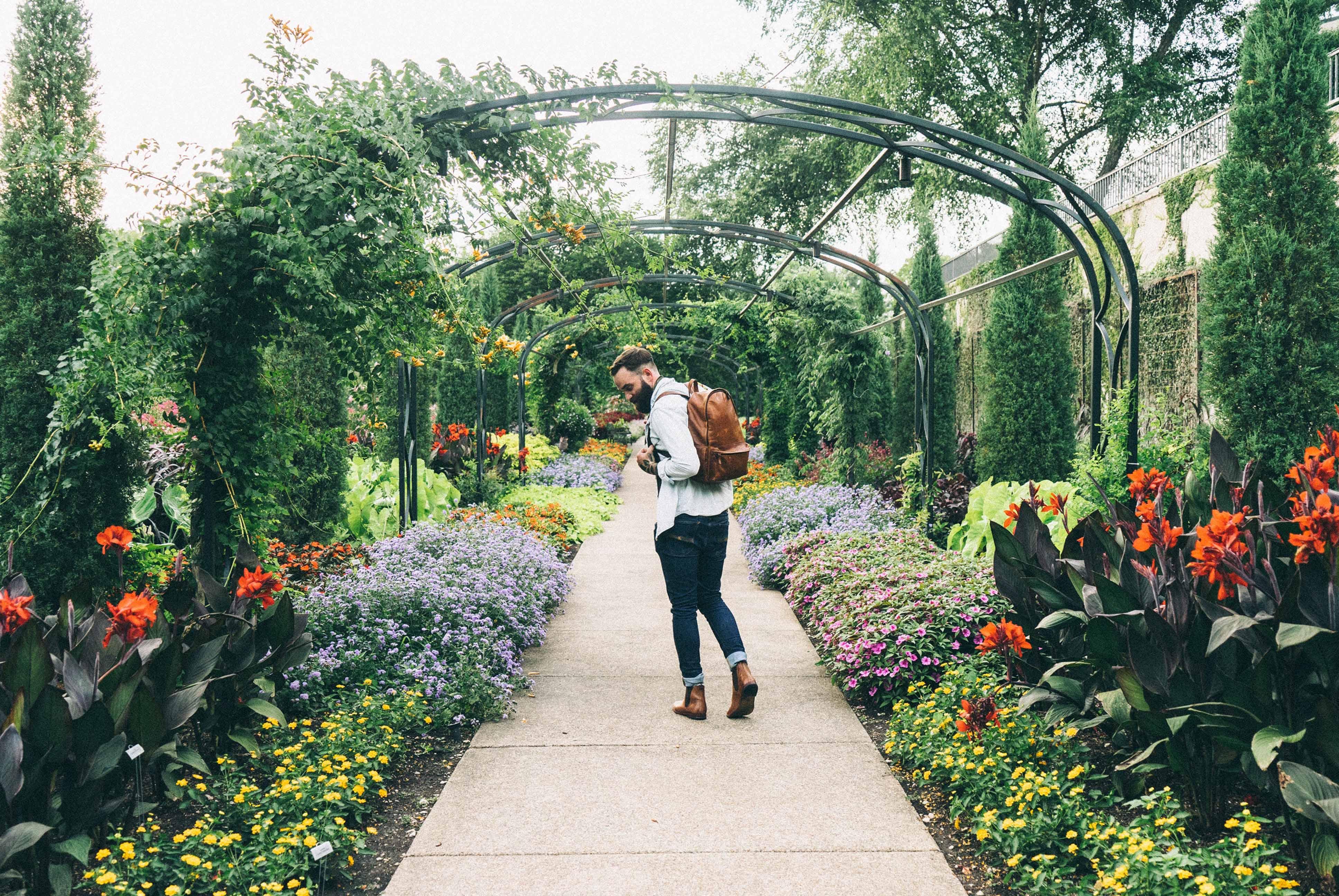 styl w ogrodzie