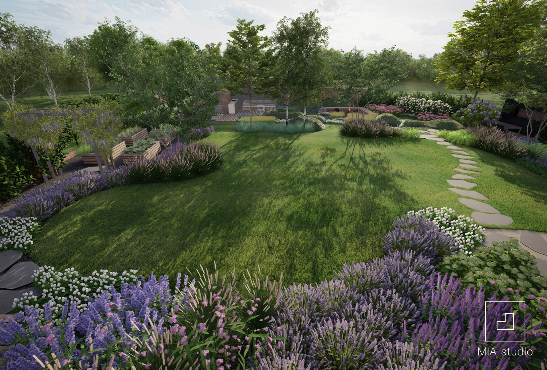 projekt ogrodu naturalnego