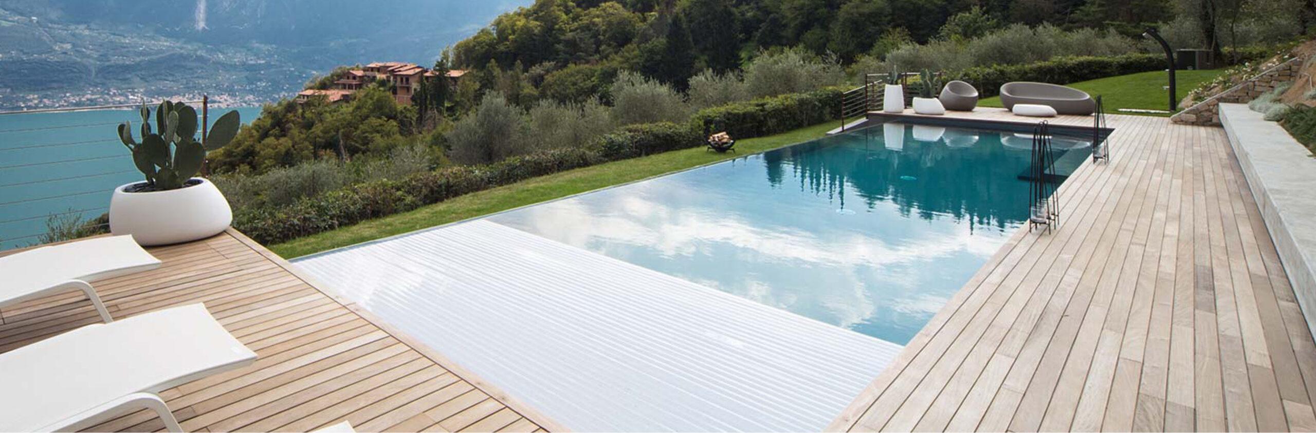 projekt tarasu z basenem