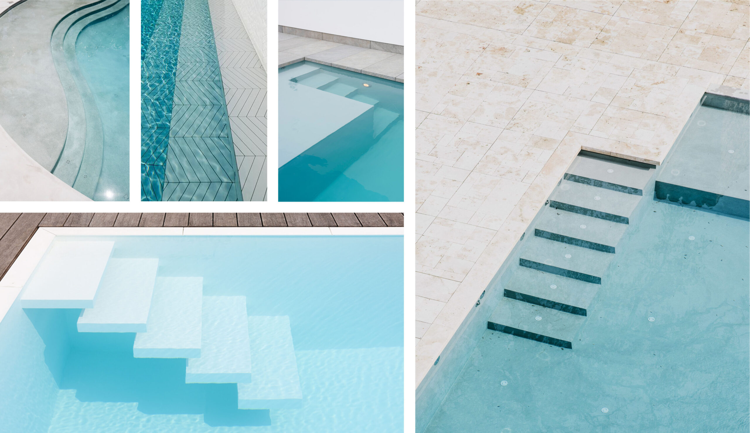 schody do basenu