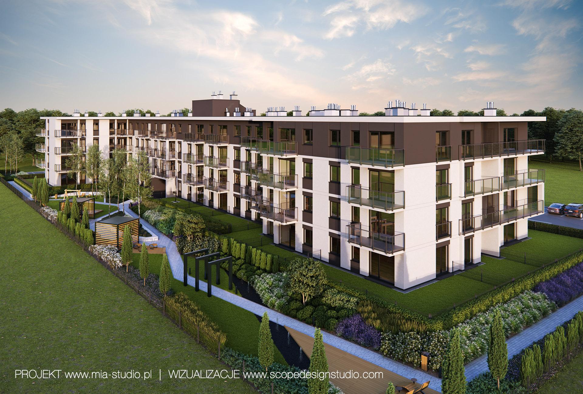 projekt zieleni osiedlowej