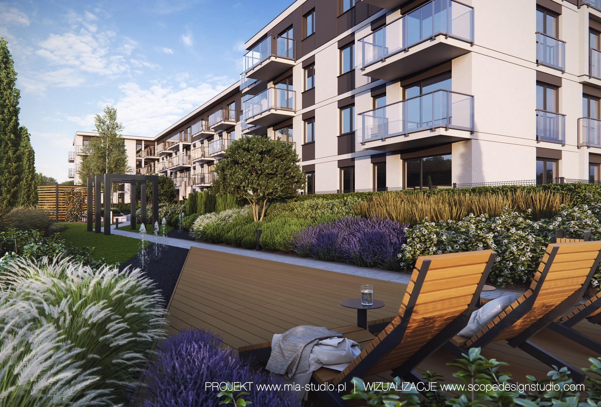 projektowanie zieleni osiedlowej